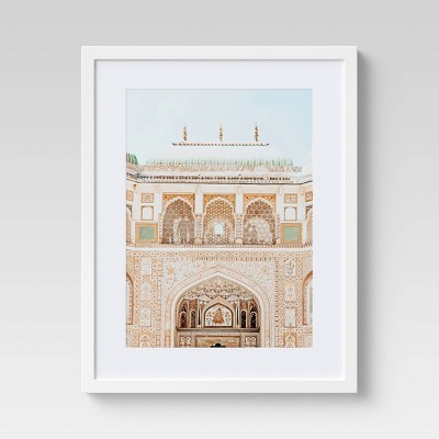 """16"""" x 20"""" Architectural Palace Photography Framed Wall Art - Opalhouse™"""