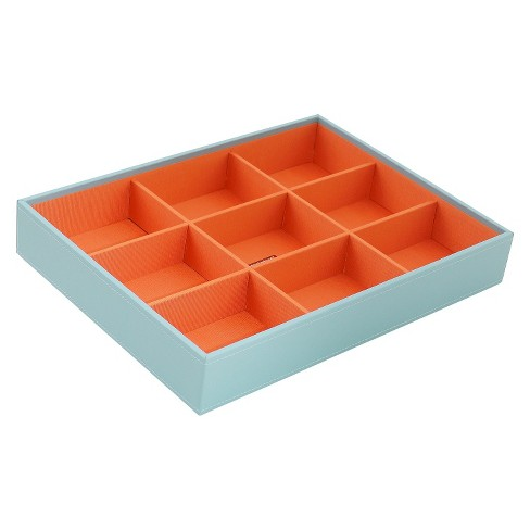 Wolf Deep Large Stackable Tray - Aqua - image 1 of 1