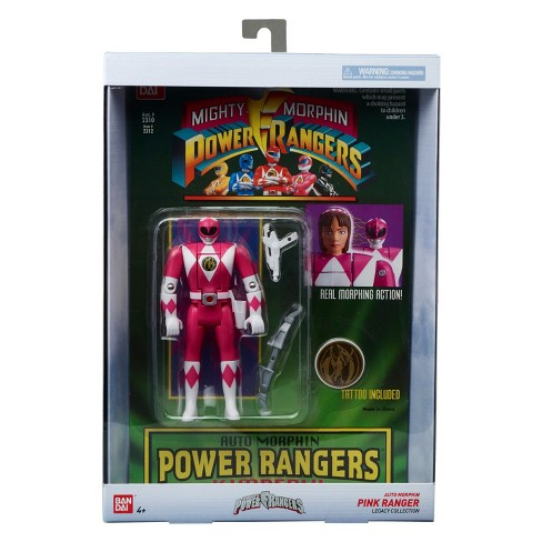 Mighty Morphin Power Rangers Legacy Pink Power Ranger - image 1 of 5