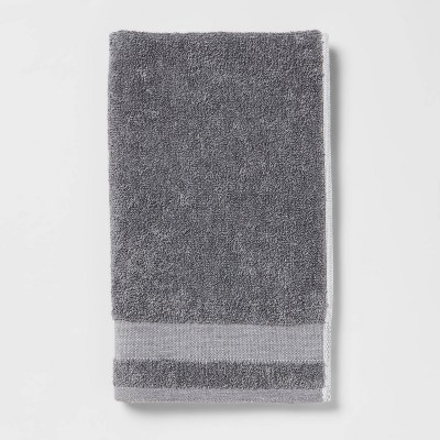 Solid Hand Towel Dark Gray - Made By Design™