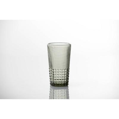 15oz 6pk Crystal Malcolm Ice Beverage Glasses Gray - Fortessa Tableware Solutions