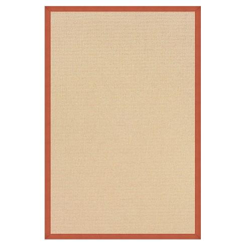 Athena Wool Area Rug - Burnt Orange (4' X 6') - image 1 of 1