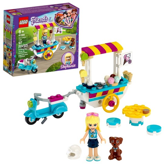 LEGO Friends Ice Cream Cart Toy Playset 41389 Building Kit image number null