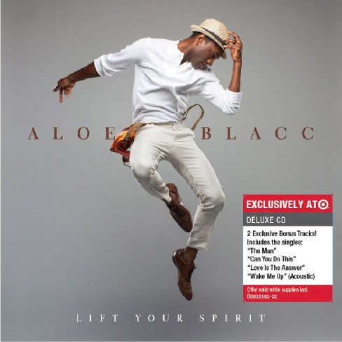 Aloe Blacc - Lift Your Spirit - Only at Target - image 1 of 1