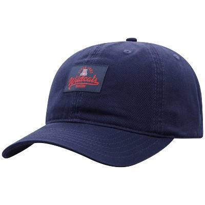 NCAA Arizona Wildcats Men's Dez Garment Washed Canvas Hat