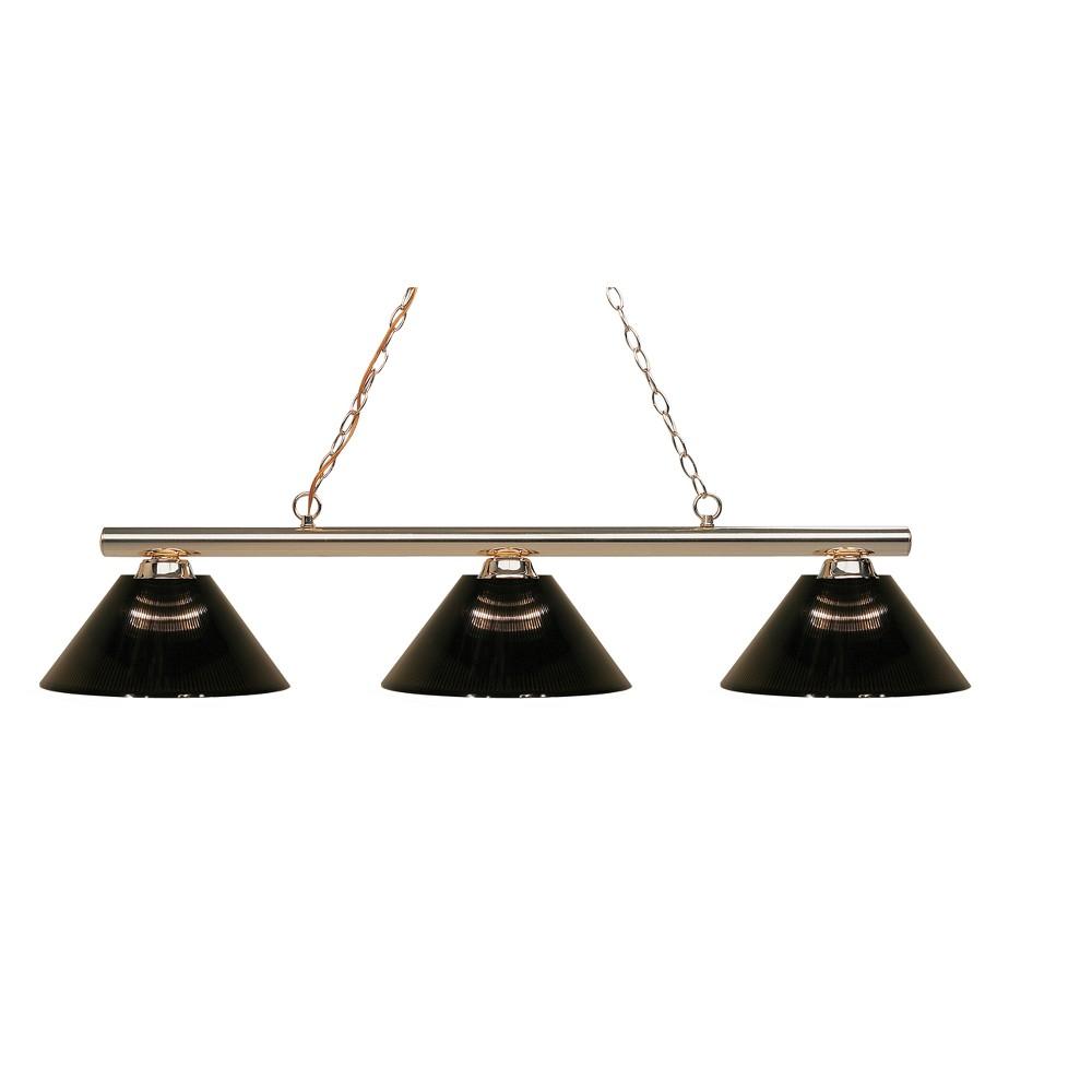 Billiard Ceiling Lights with Smoke Glass (Set of 3) - Z-Lite