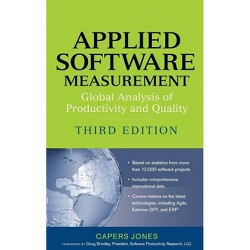 Applied Software Measurement - 3 Edition by  Capers Jones (Hardcover)