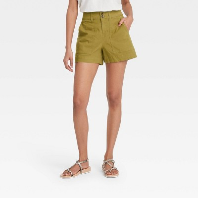 Women's High-Rise Shorts - A New Day™