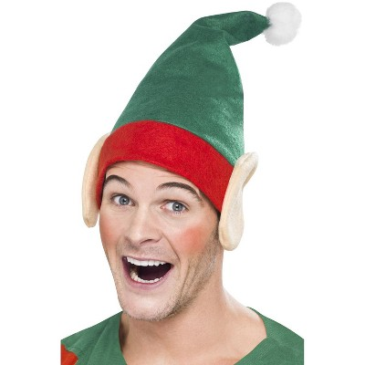 Smiffy Elf Hat with Ears