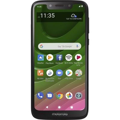 Total Wireless Prepaid Motorola Moto G7 Optimo Maxx 4G LTE (32GB) GSM - Black
