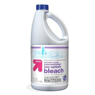 Bleach - Concentrated - Lavender Scent - 64oz - Up&Up™ (Compare to Clorox®† Splash-Less™ Bleach)