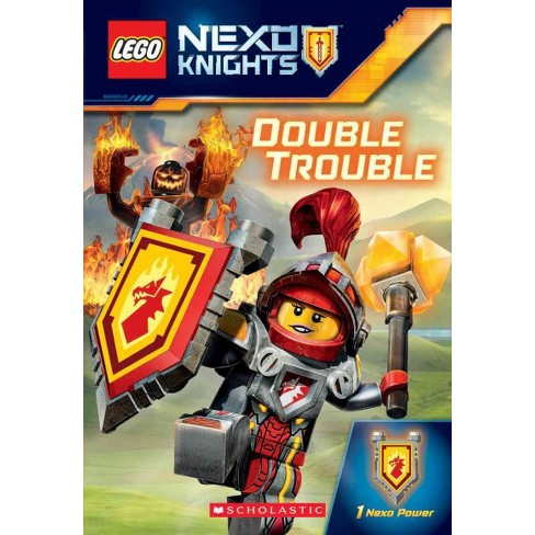 Double Trouble - (Lego Nexo Knights) by  Kate Howard (Paperback) - image 1 of 1