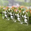Lakeside Decorative Metal Butterfly Garden Border Fence for Landscaping - image 2 of 3