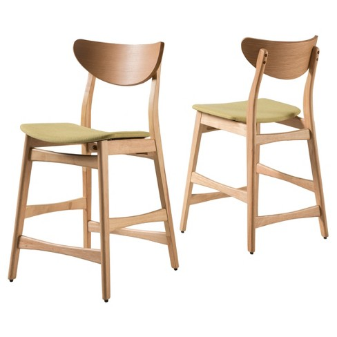 Gavin 24 Counter Stool Set Of 2 Christopher Knight Home Target