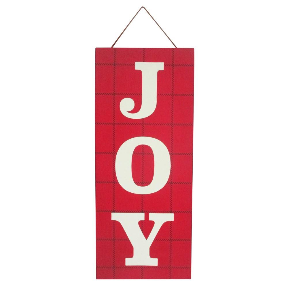 Joy Fabric Hanging Sign - Wondershop