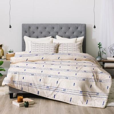 Holli Zollinger Stripe Comforter Set (King)- Deny Designs