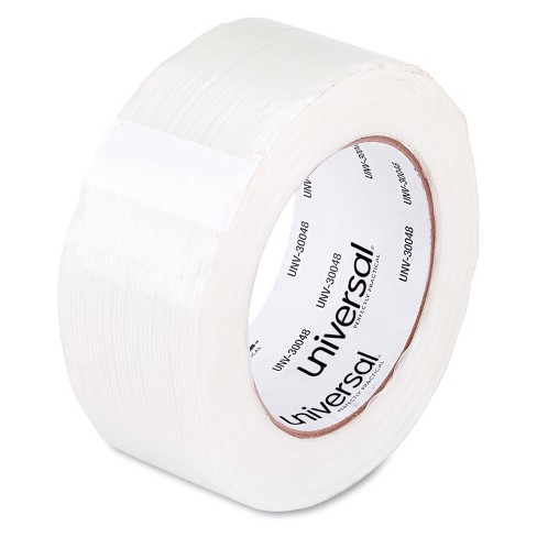 "Universal® 110# Utility Grade Filament Tape, 48mm x 54.8m, 3"" Core, Clear - image 1 of 1"