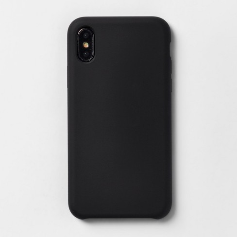 reputable site ffffe 66589 heyday™ Apple iPhone X Silicone Case - Tinted Black