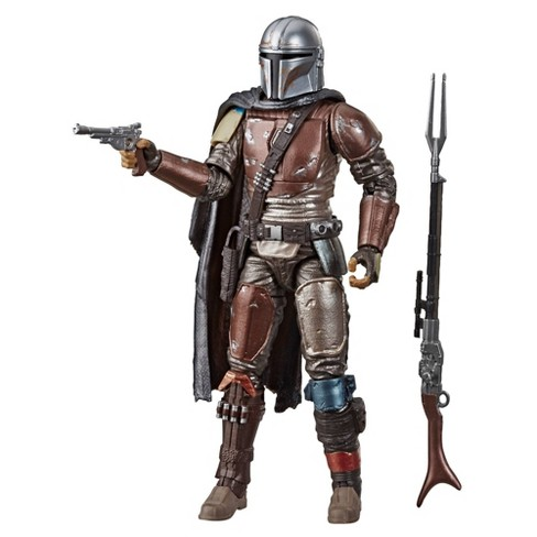 Star Wars The Black Series Carbonized Collection The Mandalorian Toy Figure (Target Exclusive) - image 1 of 4