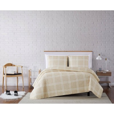 Truly Soft Everyday Leon Plaid Quilt Set