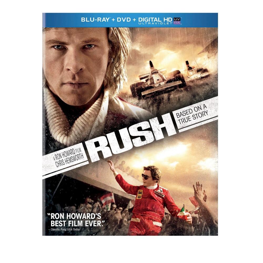 Rush (2 Discs) (Includes Digital Copy) (UltraViolet) (Blu-ray/Dvd)
