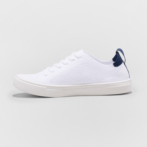 02129c6266 Women's Mad Love Vashni Lace Up Knit Sneakers - White : Target