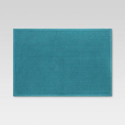 "21""x30"" Performance Solid Cotton Bath Mat - Threshold™"