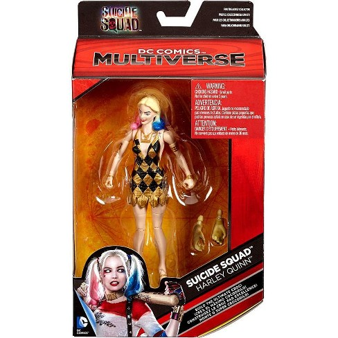 DC Suicide Squad Multiverse Ultimate Croc Series Harley Quinn Action Figure [Gold and Black Dress] - image 1 of 4