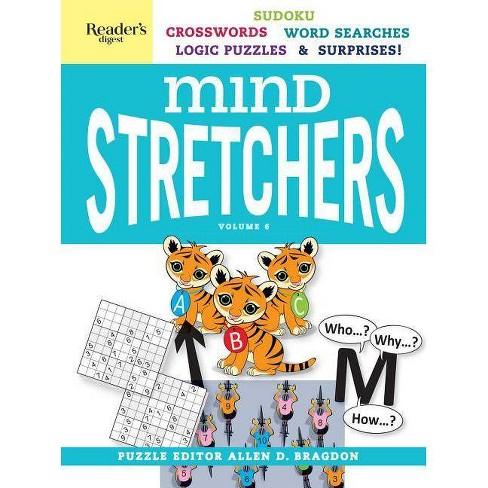 Reader's Digest Mind Stretchers Puzzle Book Vol. 6, Volume 6 - (Mind Stretcher's) by  Allen D Bragdon (Spiral Bound) - image 1 of 1