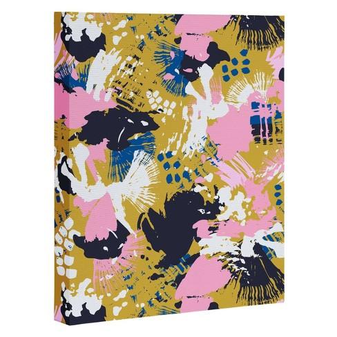"""8"""" x 10"""" Marta Barragan Camarasa Abstract Brushstrokes Unframed Wall Canvas Art - Deny Designs - image 1 of 1"""