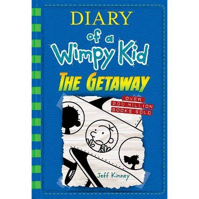 Wimpy Kid Getaway 12 - by Jeff Kinney (Hardcover)