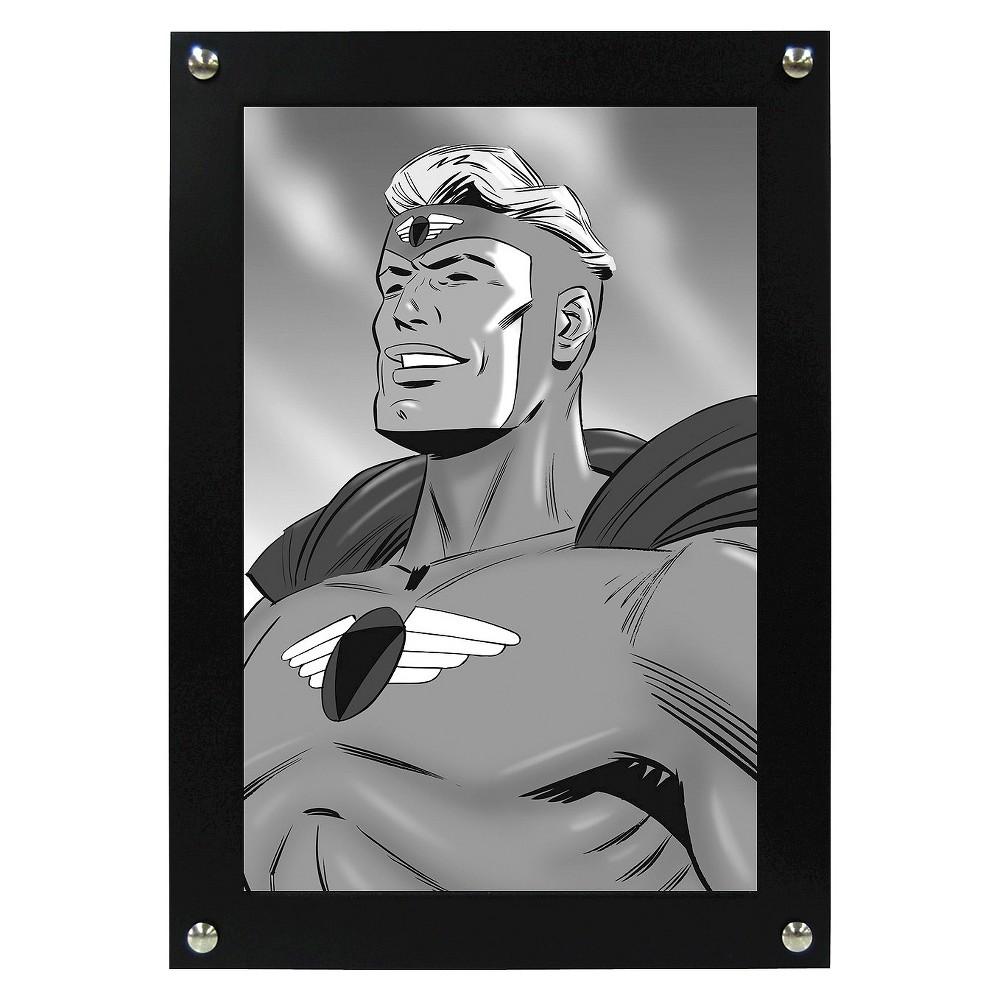 "Image of ""Onyx Comic Book Frame - Black (6.7""""x10.1""""), Onyx Heather"""
