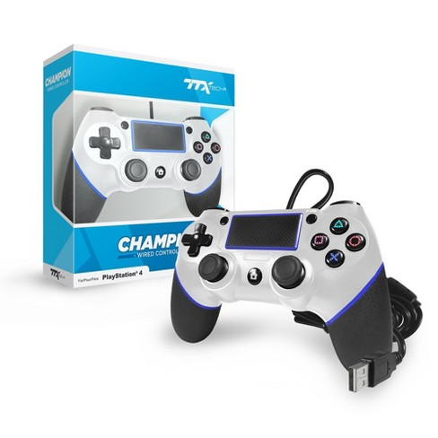 TTX Tech CHAMPION Wired Controller Compatible with PS4, White - image 1 of 1