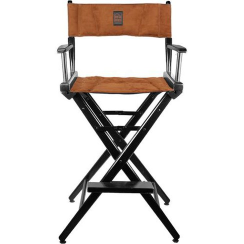 Porta Brace Director's Chair with Black Frame and Ultra Suede Seat, 30  Height - image 1 of 1
