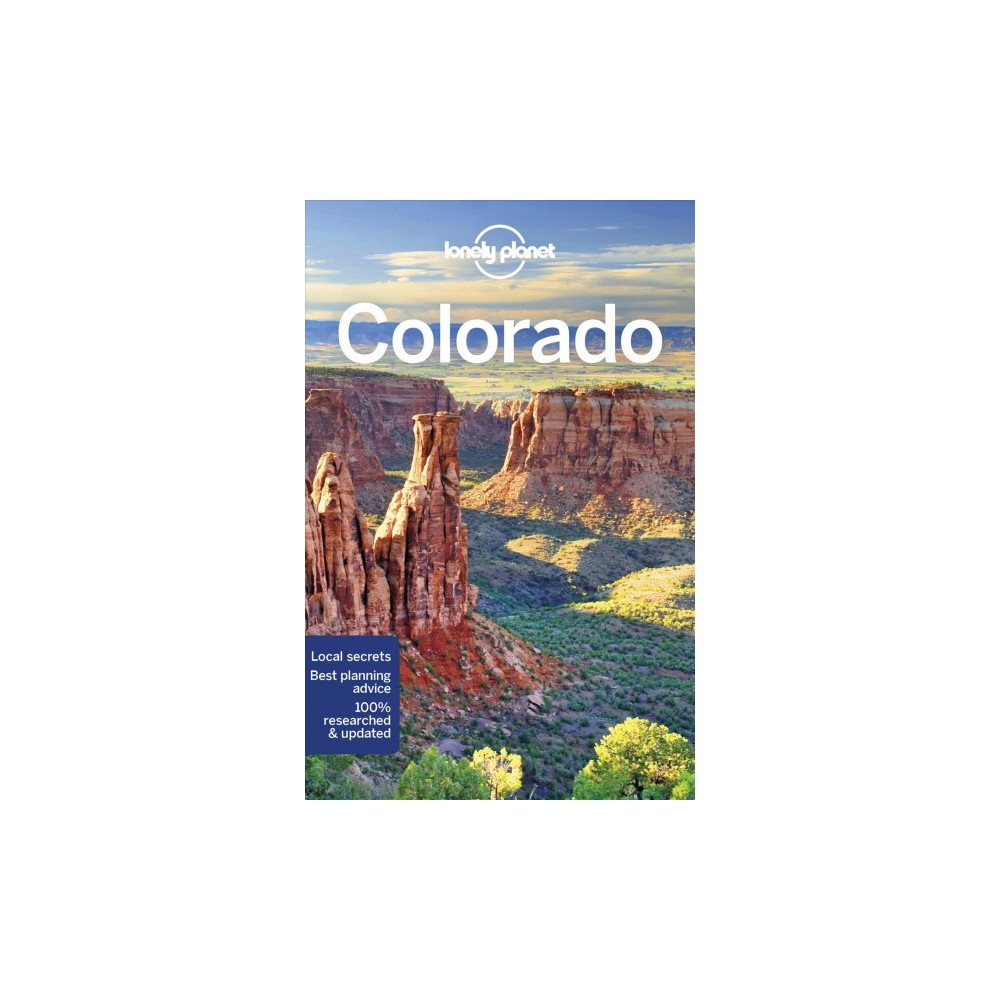 Lonely Planet Colorado - 3 by Benedict Walker & Carolyn McCarthy & Christopher Pitts (Paperback)