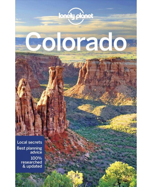 Lonely Planet Colorado -  by Benedict Walker & Carolyn McCarthy & Christopher Pitts (Paperback) - image 1 of 1