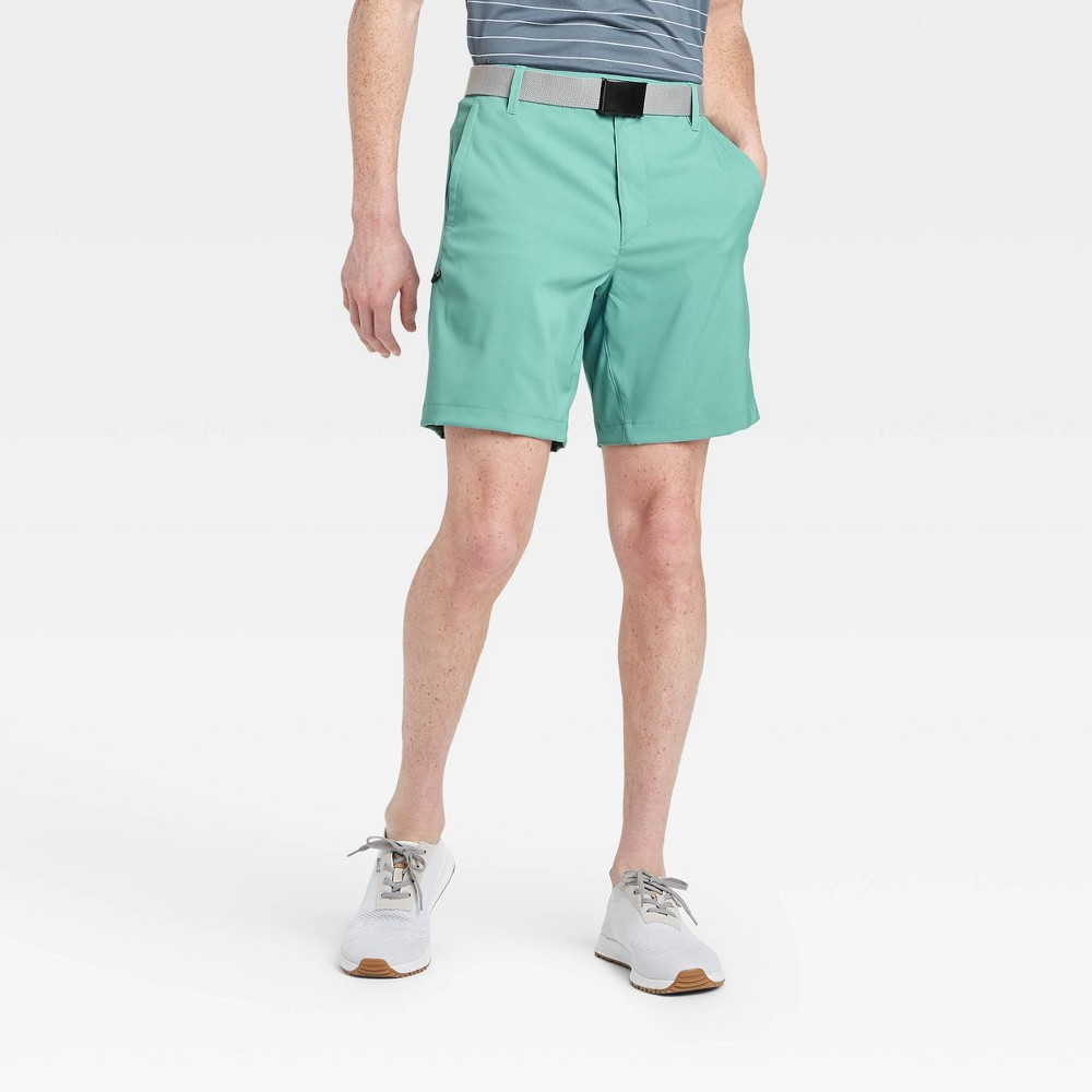 Men's Cargo Golf Shorts - All in Motion Teal 32, Blue was $30.0 now $20.0 (33.0% off)