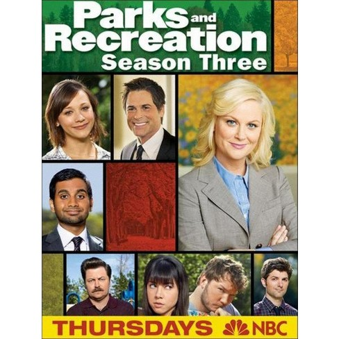 Parks and Recreation: Season Three [3 Discs] - image 1 of 1