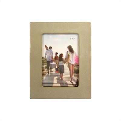 5 X7  Stoneware Matte Speckle Reactive Glaze Frame Cream - Threshold™