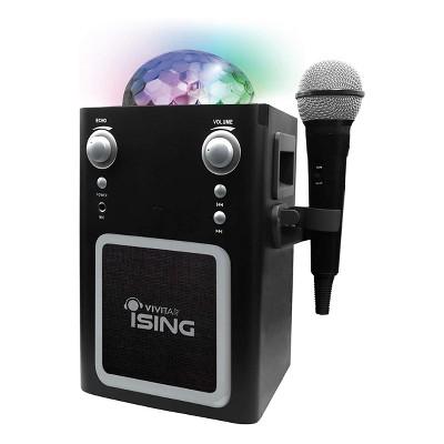 Vivitar iSING Bluetooth Disco Ball Karaoke With Mic