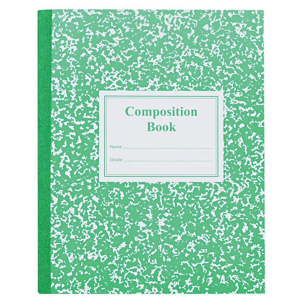 Roaring Spring Composition Notebook Wide Ruled - Green