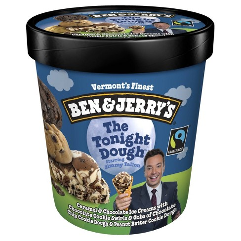 Ben and Jerry's Ice Cream The Tonight Dough - 16oz - image 1 of 4