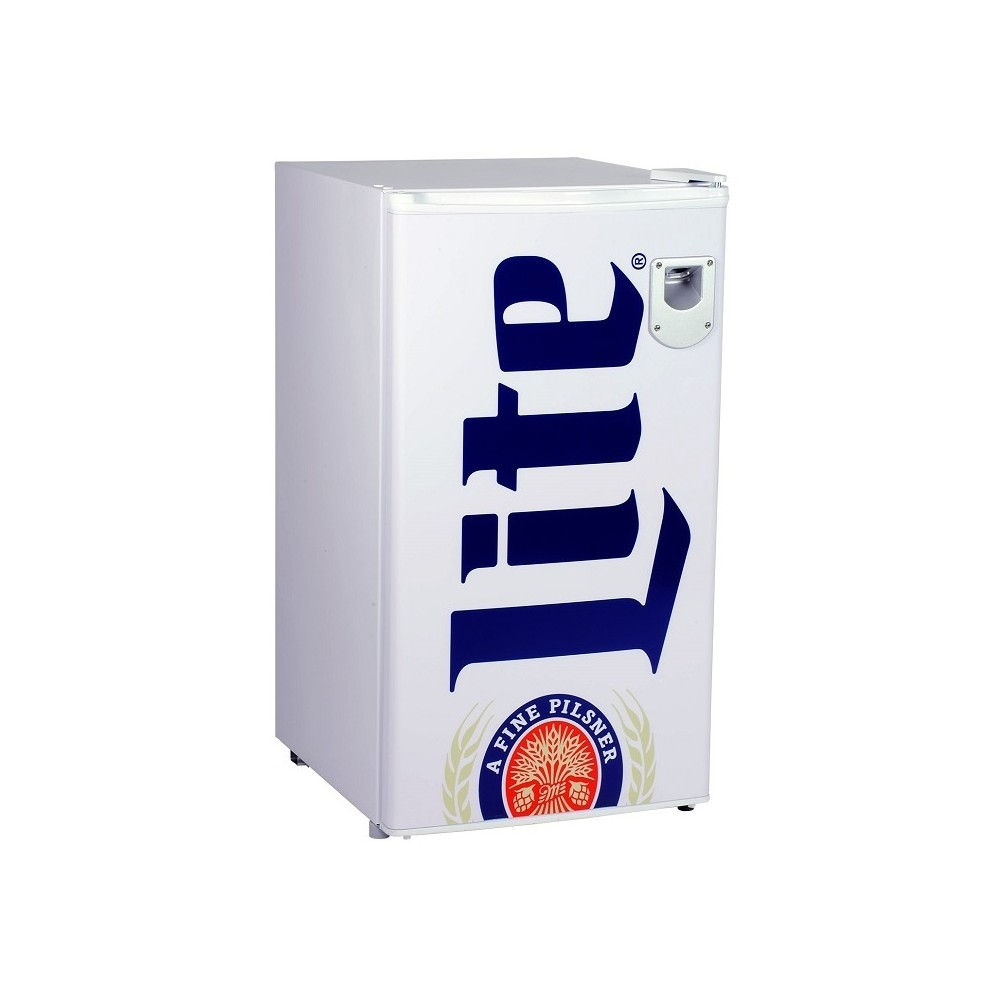 Image of Miller Lite 3.3 cu ft Compact Beer Refrigerator White ML90