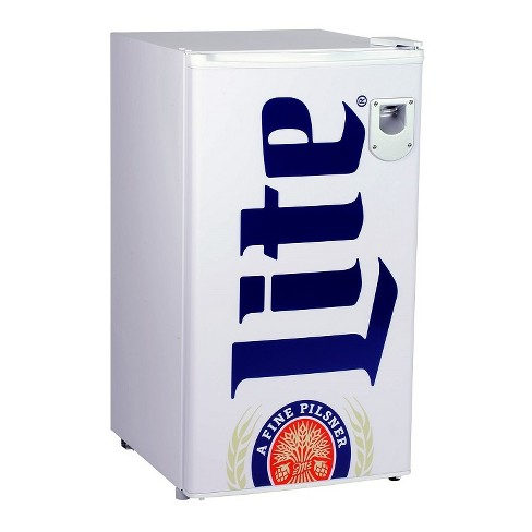 Miller Lite 3.3 cu ft Compact Beer Refrigerator White ML90 - image 1 of 3