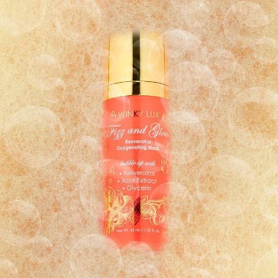 Winky Lux Fizz and Glow Bubbling Face Mask - 1.52 fl oz