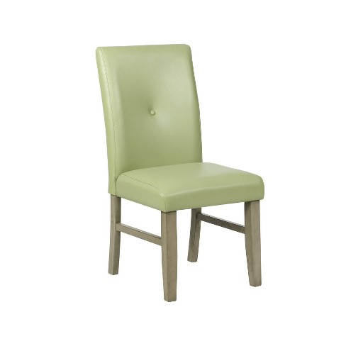Waterford Faux Leather Side Chair - Powell Company - image 1 of 4