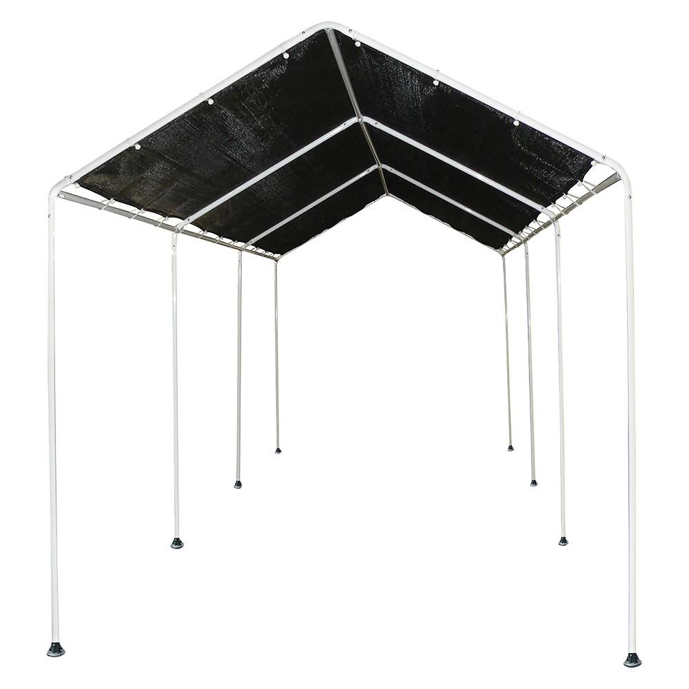 Shade Canopy 8' X 20' - Shelterlogic, Black