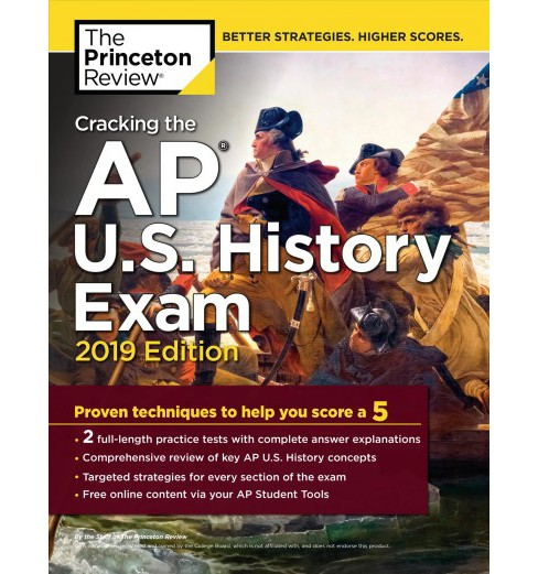 Princeton Review Cracking the AP U.S. History Exam 2019 -  (Paperback) - image 1 of 1