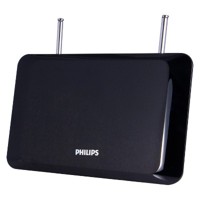 Philips Flat Panel HD Passive Antenna - Black