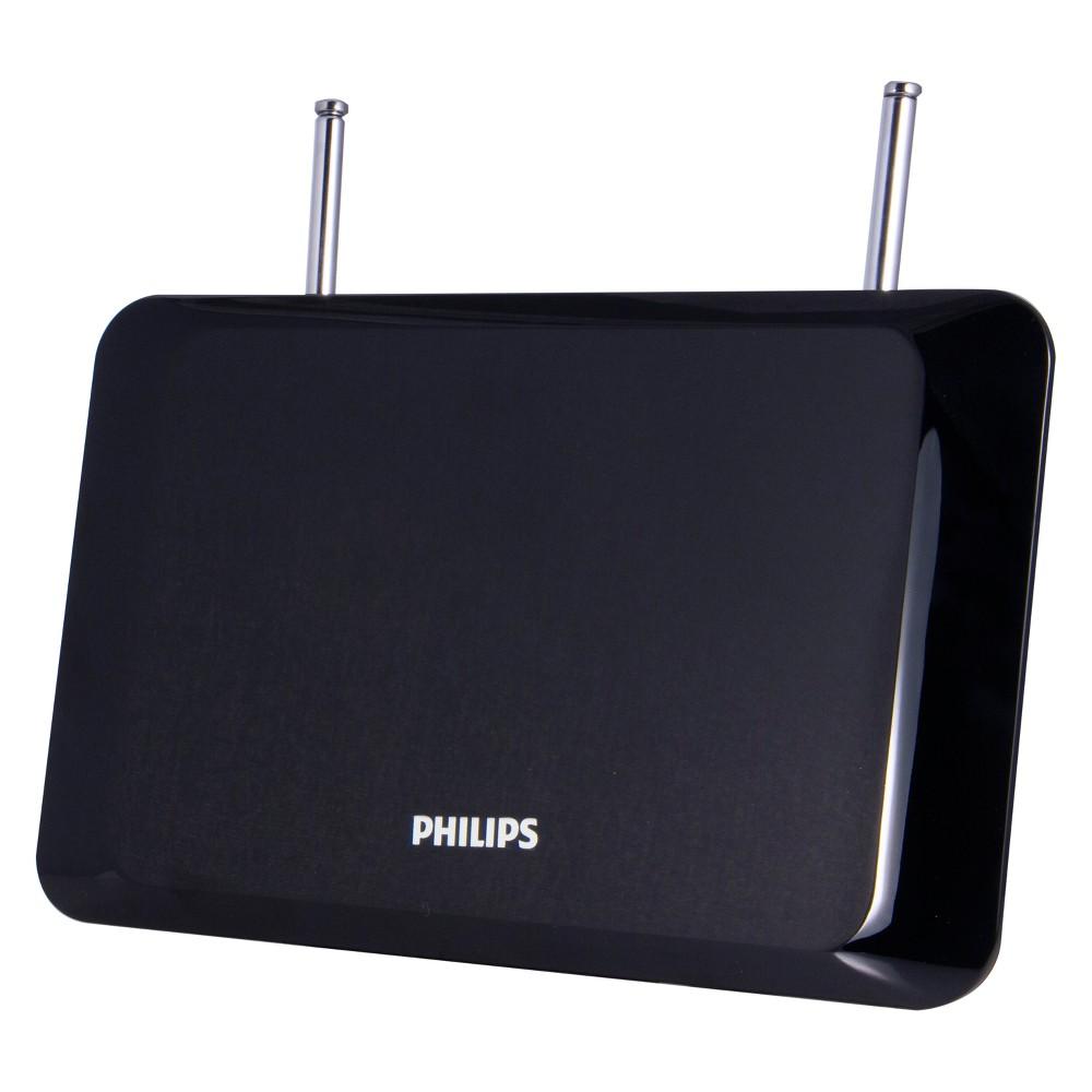 Philips Flat Panel HD Passive Antenna - Black